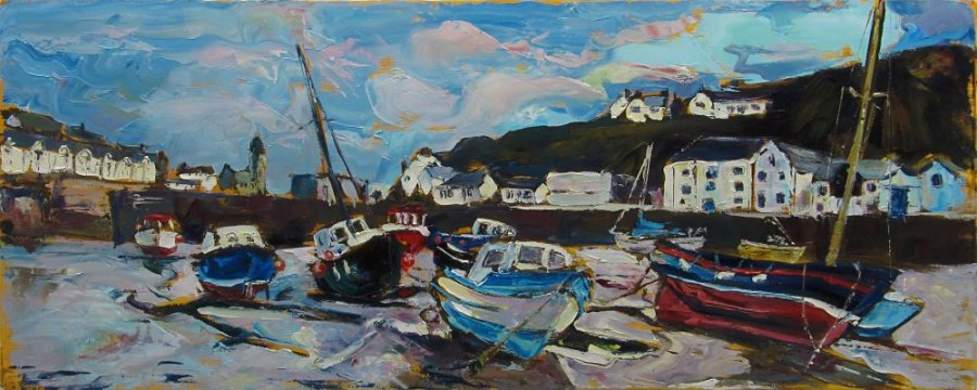 Susan Isaac - Low Tide at Porthleven