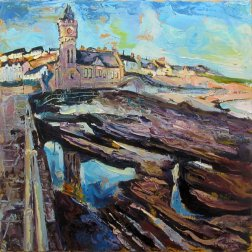 Susan Isaac - Porthleven from the Pier