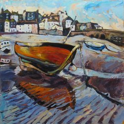 Susan Isaac - Harbour Beach, St Ives
