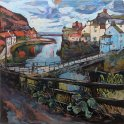 Susan Isaac - Staithes Beck and Footbridge 2015)