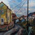 Susan Isaac - Staithes from Cowbar Lane (2015)