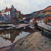741 Susan Isaac - Staithes Beck (2015) Img_7901
