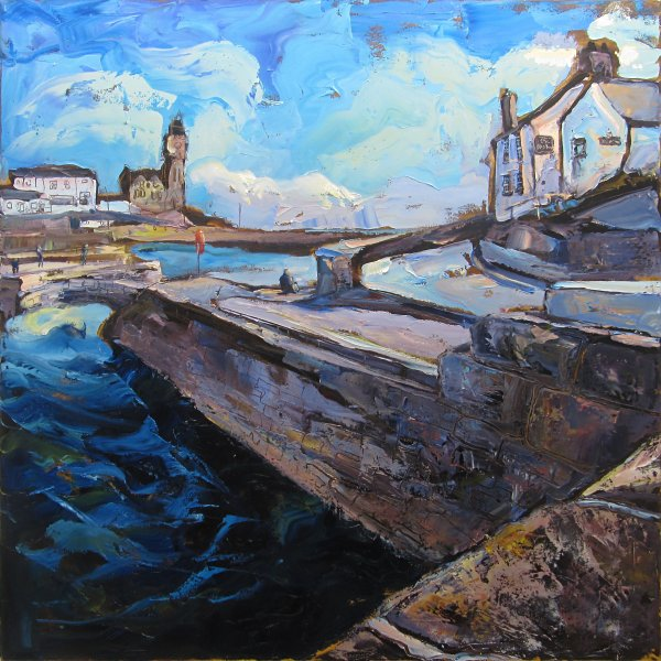 Susan Isaac - The Ship Inn at Porthleven Harbour