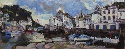 Susan Isaac - Fish Quay & Harbour, Polperro
