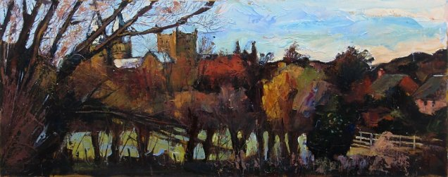 Susan Isaac - Southwell Minster from Potwell Dyke