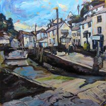 Susan Isaac - Polperro Harbour Slipway