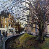 Susan Isaac - Evening Light St John's Street Cambridge (2016-17)