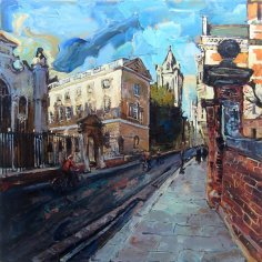 Susan Isaac - End of Term Peterhouse Cambridge (2018)