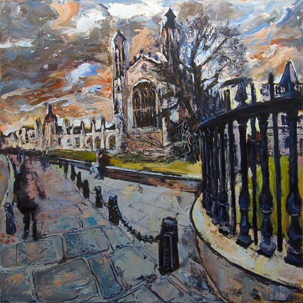 Susan Isaac - Kings College Cambridge (2016)