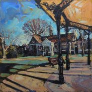 Susan Isaac - The Gilstrap and Bandstand Newark-on-Trent