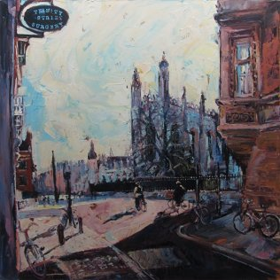 Susan Isaac - Kings College Cambridge from Trinity Street (2016)