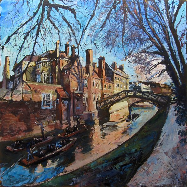 Susan Isaac - Queens College Cambridge and the Mathematical Bridge over the River Cam (2016)