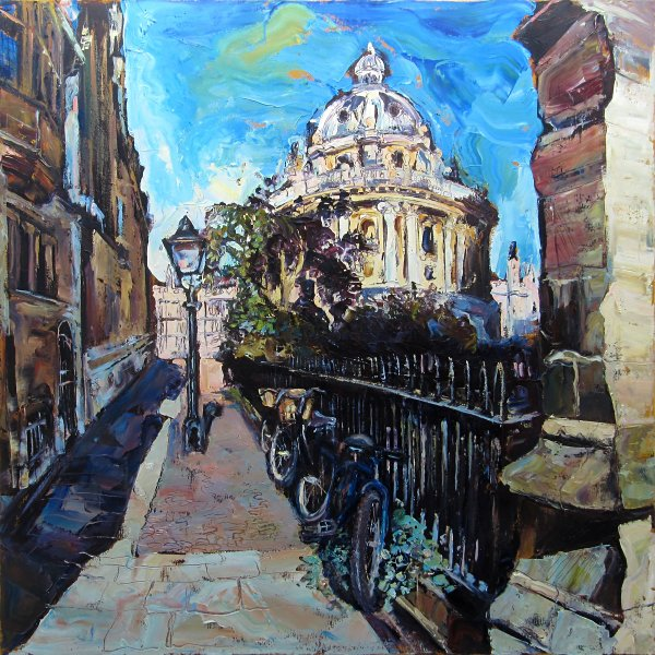 Susan Isaac - The Radcliffe & St Mary's Passage, Oxford (2016)