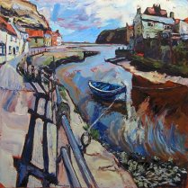 Susan Isaac - Staithes Beck from North Side