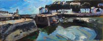 Susan Isaac - Porthleven and the Inner Harbour (2016)