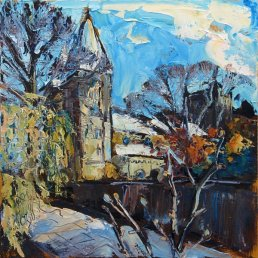 Susan Isaac - Southwell Minster from Trebeck Hall