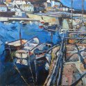 Susan Isaac - Mousehole Harbour Wall