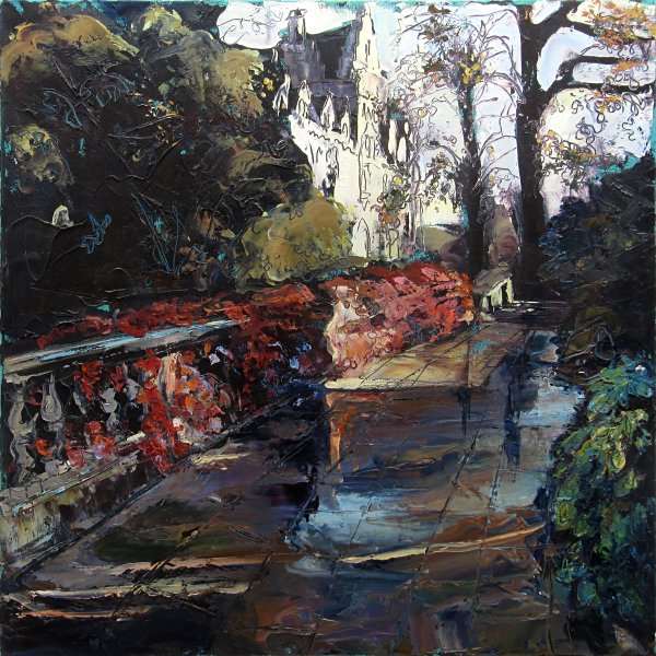 Susan Isaac - Broad Walk and Christ Church Meadow Building Oxford (2017)
