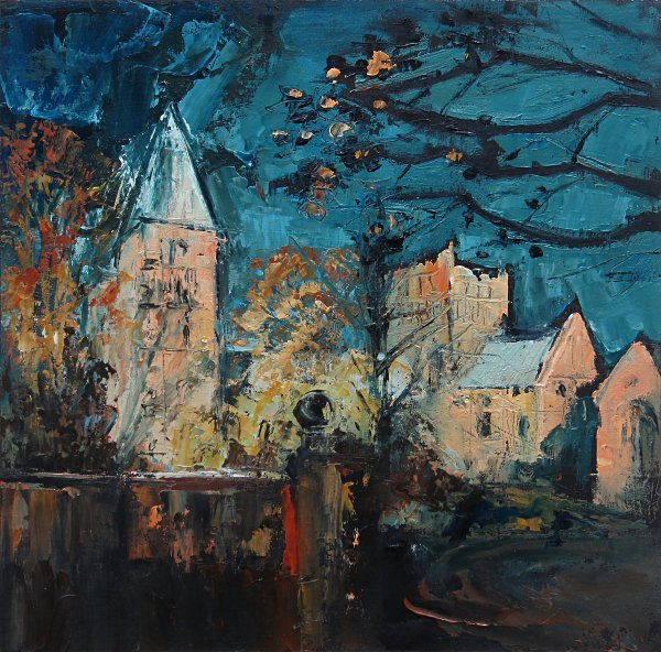 Susan Isaac - The West Towers and North Porch of Southwell Minster