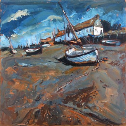 Susan Isaac - Low Tide Burnham Overy Staithe
