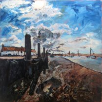 Susan Isaac - Against the Light Burnham Overy Staithe