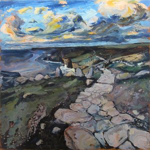 Susan Isaac - Coastal path from Lands End