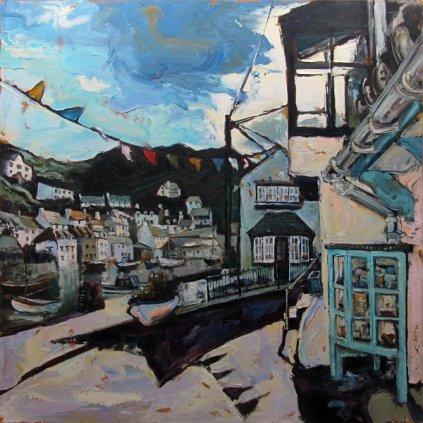 Susan Isaac - Blue Morning Breeze Polperro