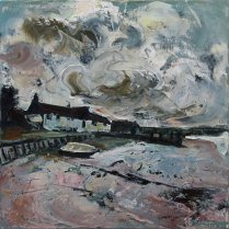 Susan Isaac - Cloudscape Burnham Overy Staithes