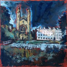 939 Susan Isaac - Kings College Cambridge from the Backs (2019) SI-Img_8253