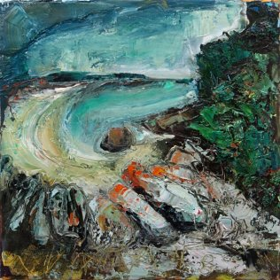 Susan Isaac - Towards Old Grimsby on Tresco (2019)