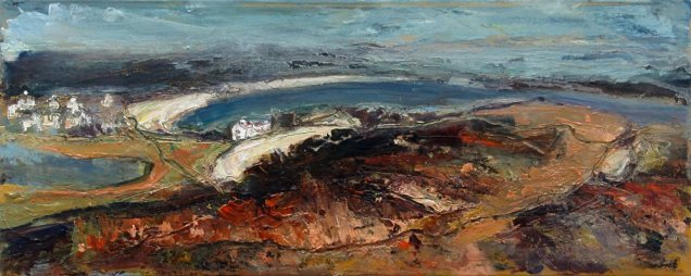 Susan Isaac - From Gweal Hill on Bryher (2019)