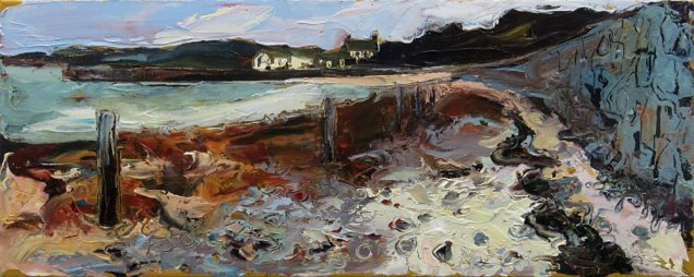 Susan Isaac - New Grimsby Quay on Tresco (2019)