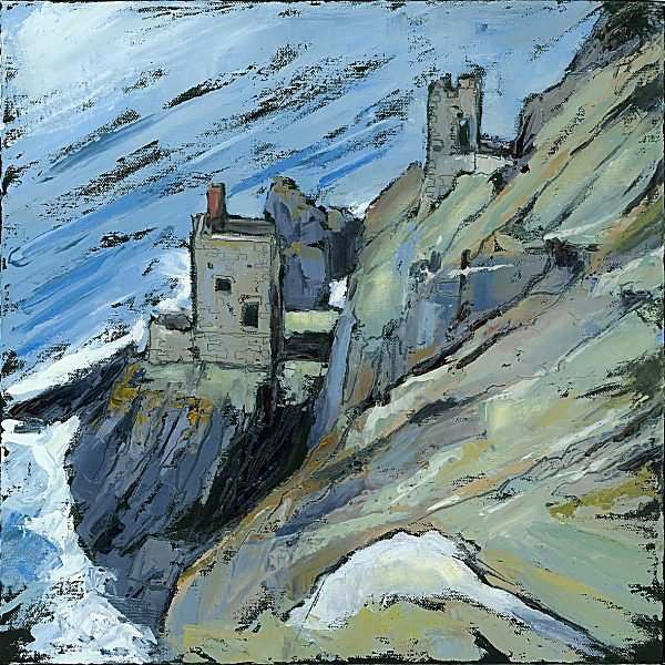 Susan Isaac - The Crowns Engine Houses at Botallack (2009)