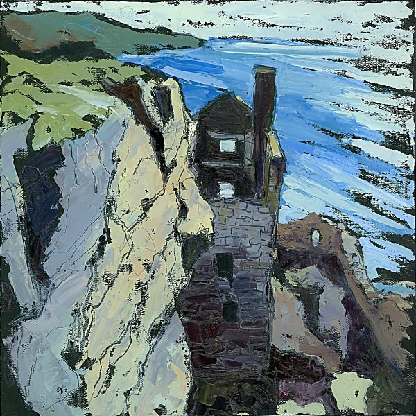 Susan Isaac - The Lower Crowns Engine House at Botallack (2009)