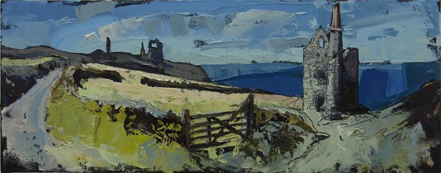 Susan Isaac - West Wheal Owles & Wheal Edward Engine Houses (2010)
