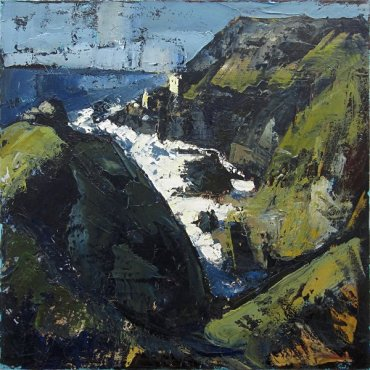 Susan Isaac - The Crowns and Engine Houses at Botallack (2012)