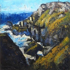Susan Isaac - The Crowns and Engine Houses at Botallack (2016)