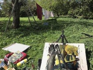 Susan Isaac - Orchard Setup