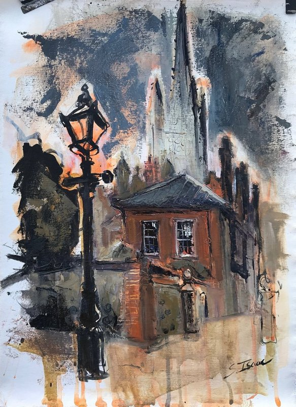 Susan Isaac - Textures and Layers (Cathedral Close Norwich)
