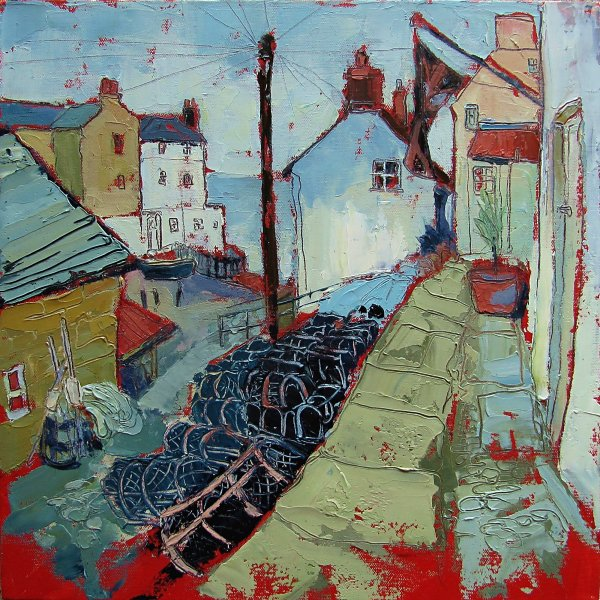 Susan Isaac - The Dock from Coble Heads Robin Hoods Bay (2010)