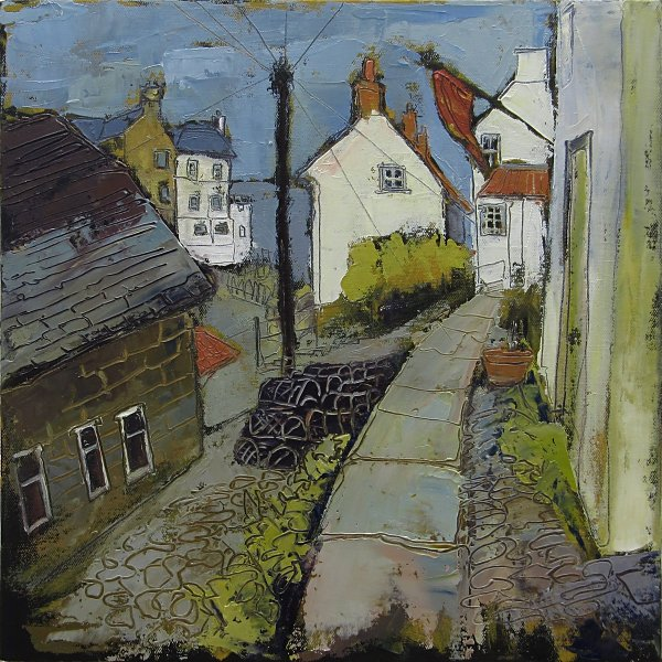 Susan Isaac - The Dock from Coble Heads, Robin Hood's Bay