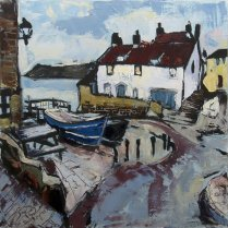 Susan Isaac - The Dock and Old Coastguard Station, Robin Hood's Bay (2012)