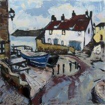Susan Isaac - The Dock and Old Coastguard Station, Robin Hood's Bay (2012)