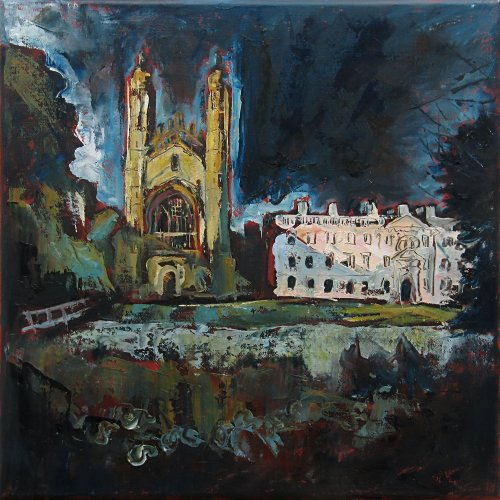 Susan Isaac - Kings College Cambridge from the Backs