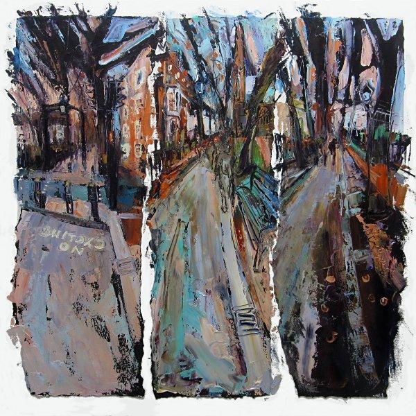 Susan Isaac - Walking the New Walk Leicester (2019)