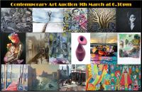 Auction of Contemporary Investment Art (curated by Chinwe Russell) with Chalkwell Auctions