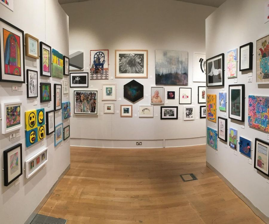 Open 30 exhibition at the New Walk Museum & Art Gallery, Leicester