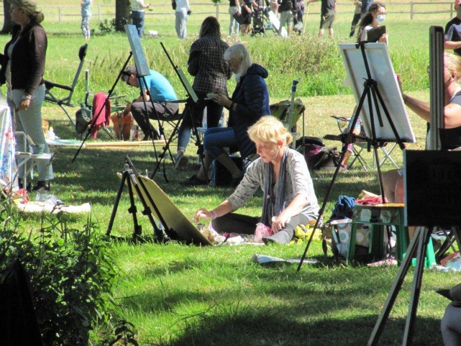 Susan Isaac at West Wycombe Sky Arts