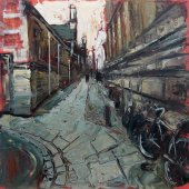 Susan Isaac - Senate House Passage from Trinity Lane Cambridge